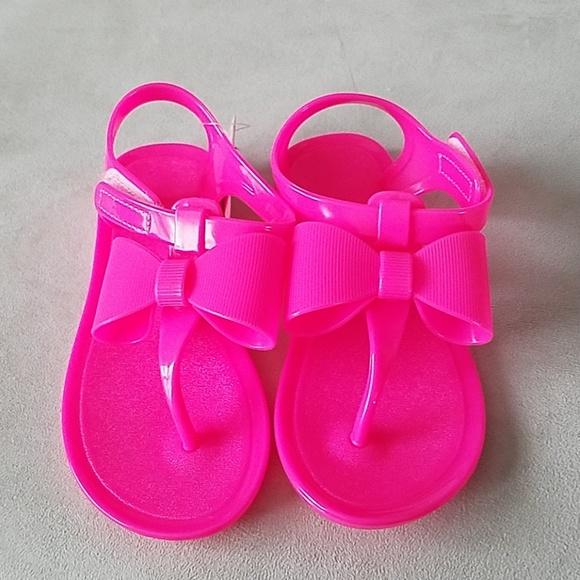 Shoes | Neon Pink Sandals | Poshmark